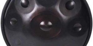 Handpan Drum Sound Performance