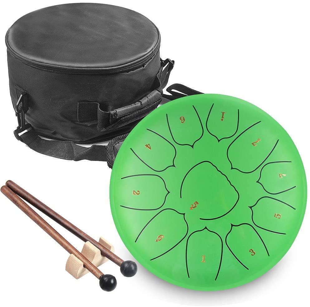 Kudout  tambour de lengueta de acero de 6 pulgadas